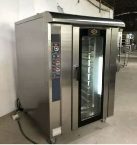 Convection Oven With Steam Timer 10 Trays Gas Model