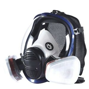 Full Face Paint Gas Mask 6800 Respirator Chemical Mask With Carbon Filter