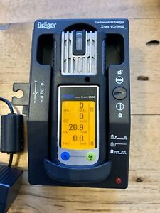 Drager X am 2500 Multi Gas Detector Lel O2 Co H2s Calibrated With Charger