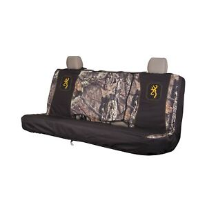 Browning Camo Seat Cover Bench Break Up Full Size
