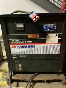 Kw Powersource Forklift Battery Charger 24 Volt Used