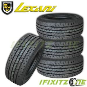 4 Lexani Lxht 206 P215 70r16 99t Tires 40k Mile Warranty All Season Truck Suv