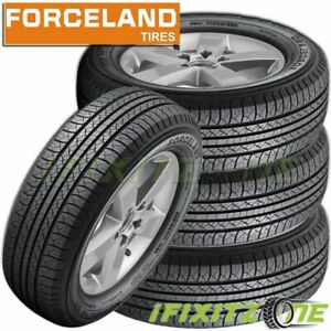 4 New Forceland Kunimoto F26 255 70r16 111t All Season A S Tires