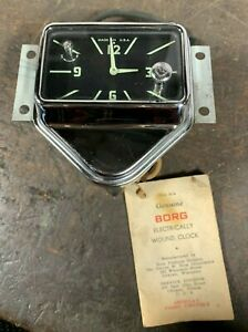 1959 New Old Stock Plymouth Electric Clock