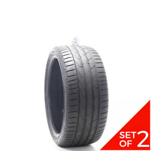Set Of 2 Used 245 35zr19 Hankook Ventus S1 Evo2 Ro1 93y 6 7 5 32