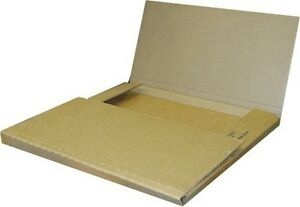 100 Economy Variable Depth Kraft Lp Record Album Mailer Boxes New Item