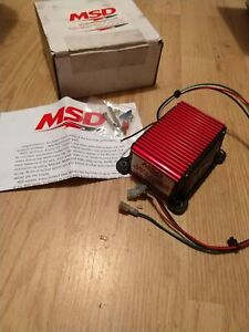 Like New In Box Msd Ignition 8728 Rev Limiter Control Soft Touch