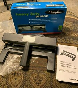 Swingline Heavy Duty 2 7 Hole Punch 74440