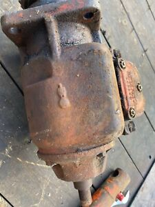 Case Tractor Belt Pulley Assembly With Hydraulic Pump valve