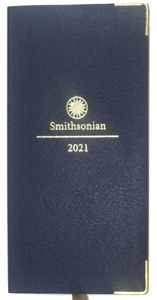 2021 Weekly monthly Smithsonian Pocket Appointment Book planner 3 1 4 In X 6 1 2