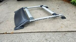 01 02 03 Nissan Frontier Crew Cab Roof Luggage Rack Set W Wind Deflector Oem