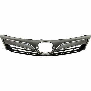 New Front Grille Assembly For 2012 2014 Toyota Camry To1200343 Ships Today