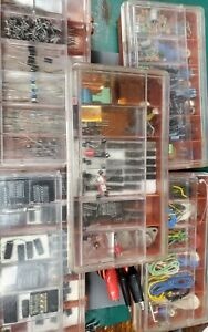 Huge Starter Lot Of New Old Stock Vintage Electronic Components