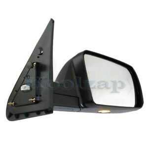 For 07 13 Tundra Mirror Power Folding Heated W Puddle Signal Light Right Side
