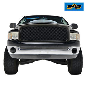 Eag Replacement Grille Upper Full Mesh Grill Fit 02 05 Dodge Ram 1500 2500 Main