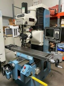 Southwestern Industries Proto Trak Trm 2 Axis Cnc Bed Mill 5719