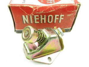 Vintage Niehoff Al 132 Floor Mounted Dimmer Switch