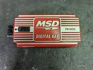 Msd Ignition 6425 Digital 6al Ignition Control Box Only W Built in Rev Limiter