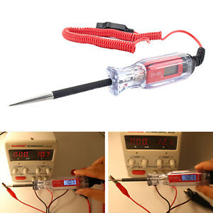 Heavy Duty Automotive Circuit Tester Premium 3 48v Test Light With Extended
