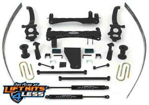 Fabtech K6000m 6 Basic Lift Kit W Stealth Shocks For 2004 2013 Nissan Titan