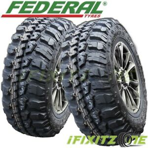2 Federal Couragia M T 30x9 50r15lt 104q 6pr Owl Off Road All Season Mud Tires