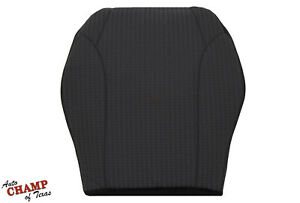 2002 2004 Jeep Liberty driver Side Bottom Replacement Cloth Seat Cover Dark Gray