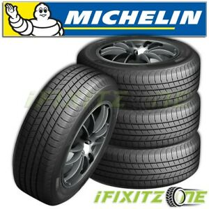 4 Michelin Defender T h 215 60r17 96h Tires 820ab 80000 Mile All Season New