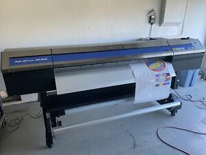 Roland Xr 640 64 Wide Format Solvent Printer print Cut