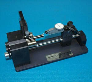 Universal Punch Concentricity Gage With Bestest 0001 Dial Indicator
