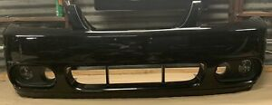03 04 Ford Mustang Cobra Aftermarket Front Bumper Cover Lights Bezels Used Q68