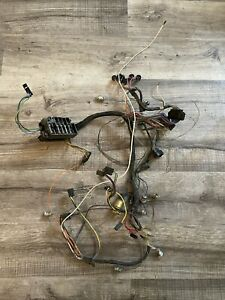1966 Chevrolet Impala Main Dash Wiring Harness W Fuse Panel Oem 1965 Belair