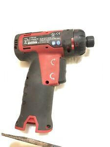 Snap On Tools 1 4 Drive Red Cordless Screwdriver 1 4 Hex Drive Tool Only