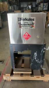 Herkules G415 Automatic Paint Gun Washer used 5 Gal