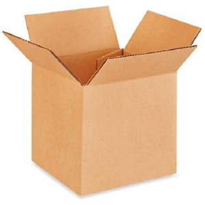 200 5x5x5 Cardboard Paper Boxes Mailing Packing Shipping Box Corrugated Carton