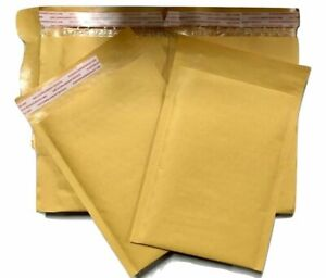 200 1 7 25x12 Kraft Bubble Padded Envelopes Mailers 7 25 x12 Factory Seconds