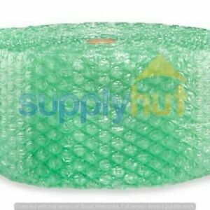 1 2 Sh Recycled Large Bubble Cushioning Wrap Padding Roll 200 X 12 Wide 200ft