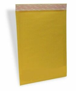 100 4 9 5x14 5 Eco Kraft Bubble Padded Envelopes Mailers Lite Shipping Bags