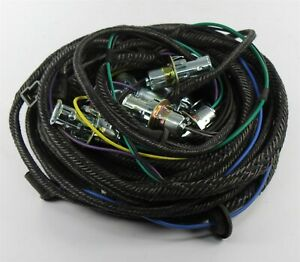 New 1969 Dodge Coronet Convertible Rear Lamp Wiring Harness 2 T l Per Side