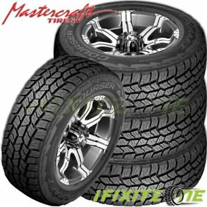 4 Mastercraft Courser Axt 235 70r17 Bw Xl All Terrain Performance Tires