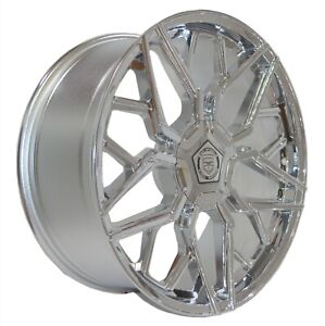 4 G46 20 Inch Chrome Rims Et20 Fits Acura Tl Type S Except Brembo 2007 08