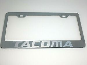 Toyota Camry Mirror Chrome Stainless Steel License Plate Frame Cap