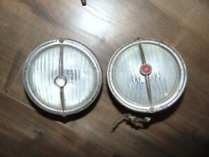 Vintage Electroline Model 82 Rat Rod Driving Headlights Lights Lamps
