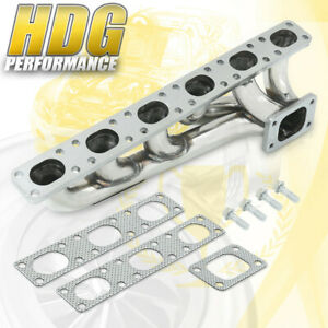 Racing Exhaust T3 T4 Turbo Manifold Header For 92 99 Bmw E36 323is 325is 328is