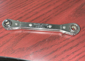 2017 Yellow Jacket 60613 Service Wrench Refrigeration Wrench 1 4 X 3 8
