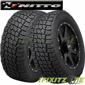 2 Nitto Terra Grappler G2 Lt295 70r18 129 126q All Terrain A T Suv Truck Tire