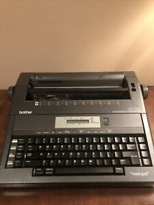 Brother Ax 25 Electronic Typewriter W Word spell