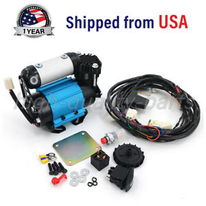 On board 12v High Output Air Compressor Kit For Universal Tire Replace Ckma12