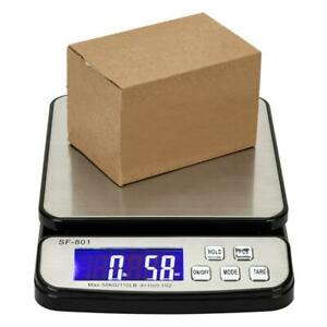 110lb X0 1oz Digital Lcd Postal Scale Shipping Electronic Scale 50kg Post Office