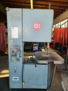 Grob 24 Metal Band Saw Bandsaw With Welder Table Feed