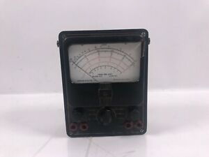 Simpson Electric Model 260 Multimeter Working And Comes With Cables Vintage